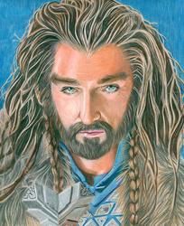 Thorin Oakenshield by SilverWarrior