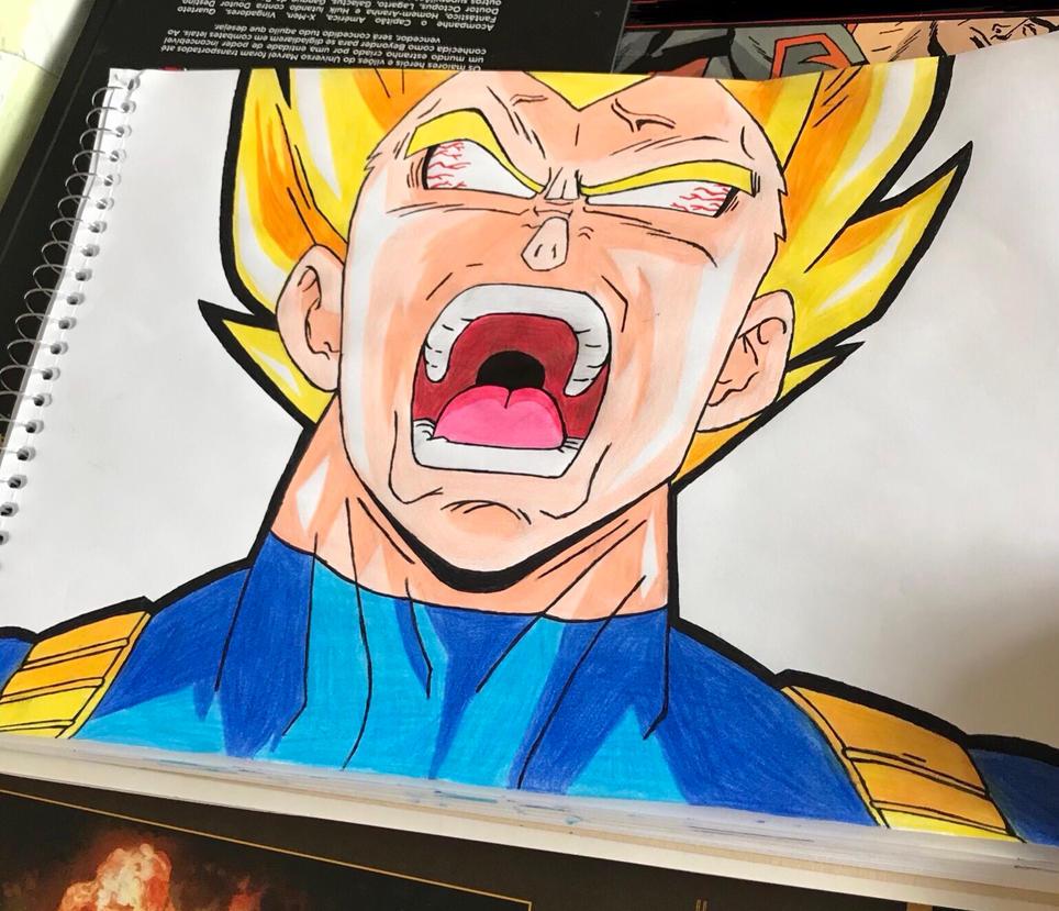 Vegeta - Dragon Ball by andregps