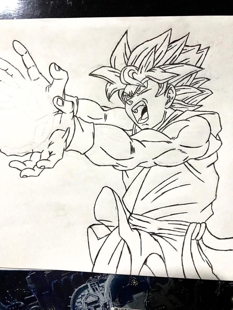 Goku - Dragon Ball by andregps
