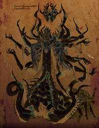 Hastur(Ancient mural ver.)