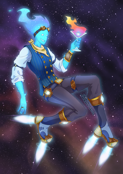 Space Bartender