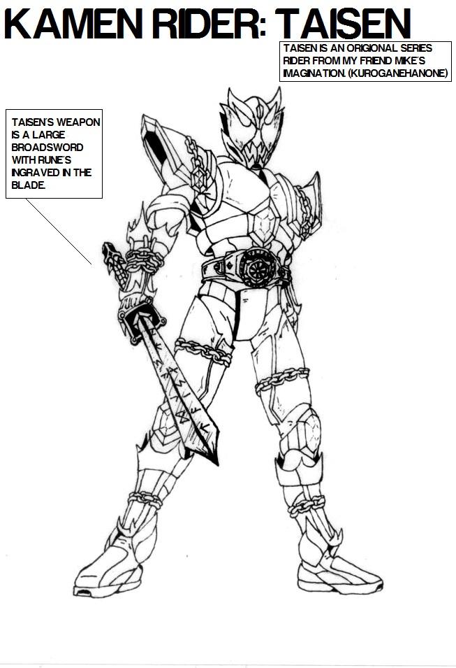Kamen Rider Taisen by BLeeZy3993