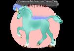 V084 Foal Design | Bataille Filly