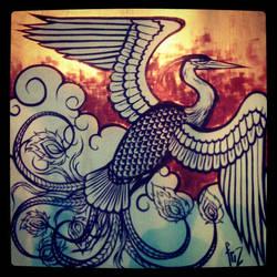 Phoenix - Live painting
