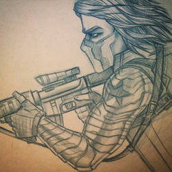The Winter Soldier by Frizelle