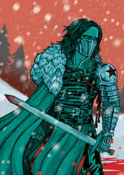 The Winter Soldier Is Coming by Frizelle