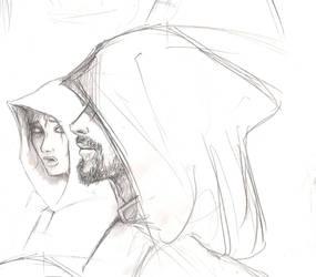 Sonea and Akkarin by Frizelle