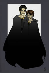 Akkarin and Sonea, 2 by Frizelle