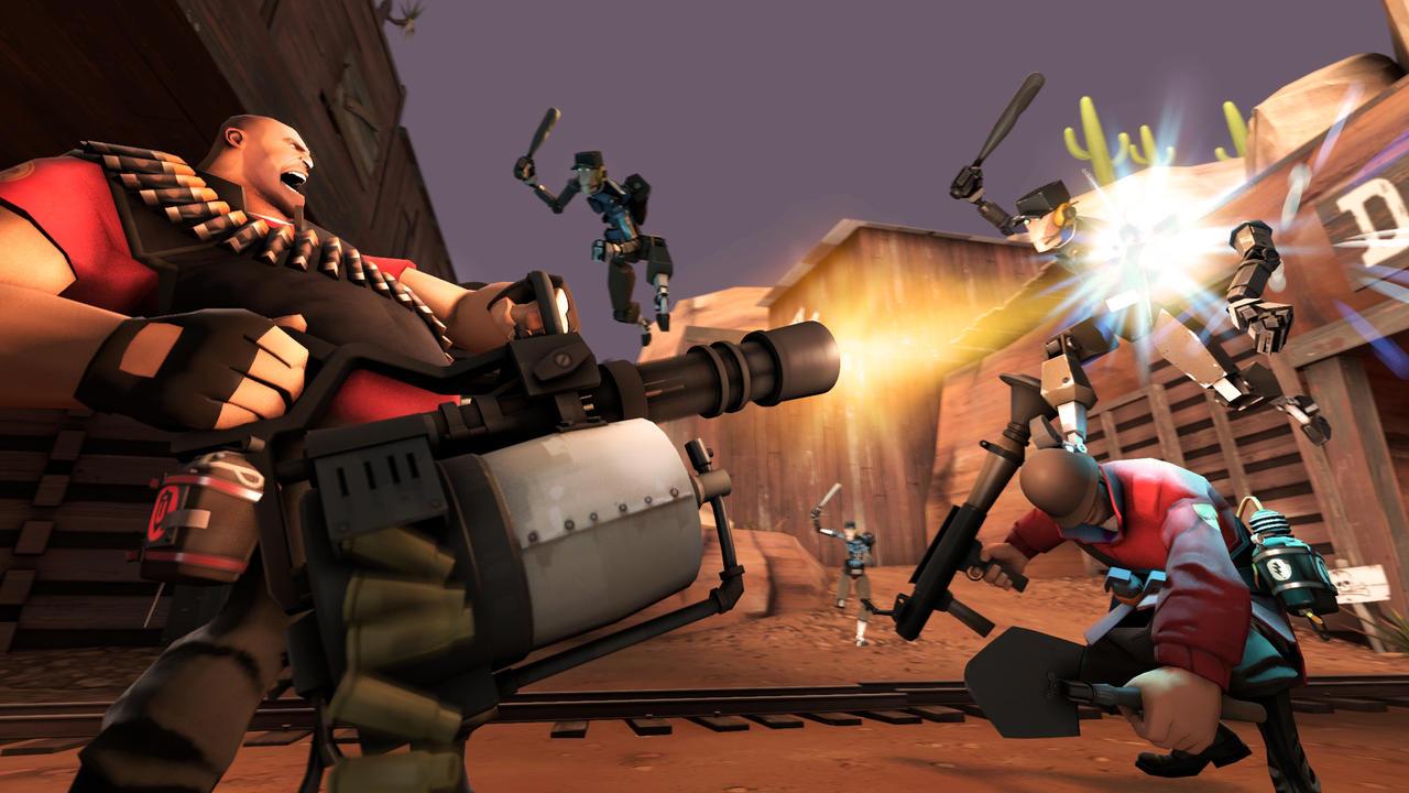 Fight - Mann vs. Machine - SFM by squar3x