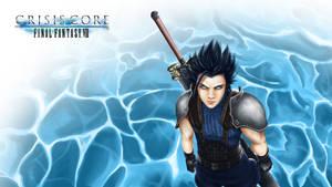 Zack Fair (wallpaper) - F. F. VII Crisis Core