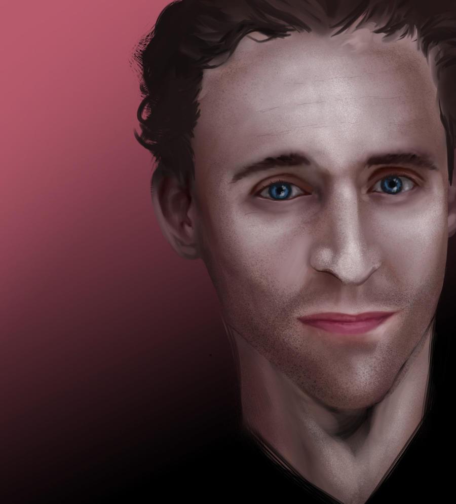 Tom Hiddleston speedpaint