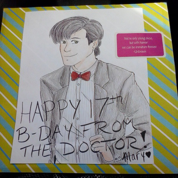 Doctor Who birthday card by InsaneHamburgers on DeviantArt – Doctor Who Birthday Card