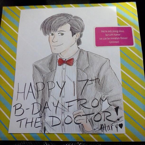 Doctor Who birthday card by InsaneHamburgers on DeviantArt – Doctor Who Birthday Card