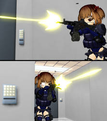 WIPpy: Replacement Muzzle Flash Testing by ChibiAI-kun