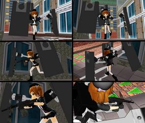 WIP: Unit 12 USAS-12-chan Crossplay Study by ChibiAI-kun