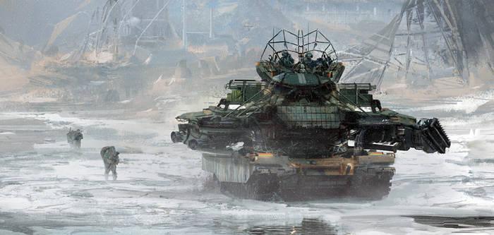 Tank snow
