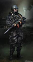 Russian Mercenary 2025
