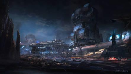 Mining colony by jameschg