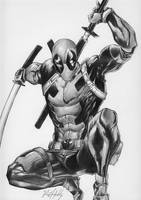 Deadpool.  by raulhidalgo