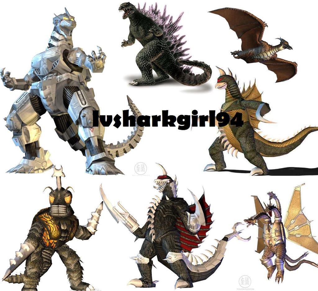 My Godzilla Wallpaper by ~lvsharkgirl94 on deviantART