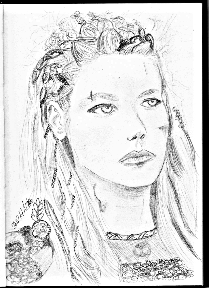 Day Four: Lagertha by NeunMephistopheles