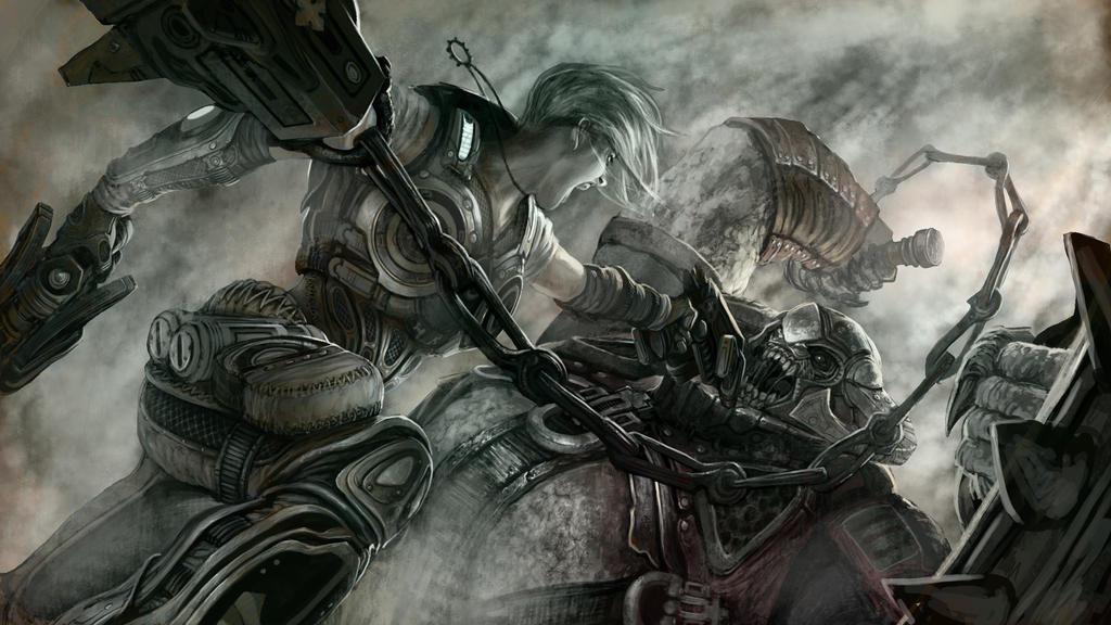To The Death by david-sladek