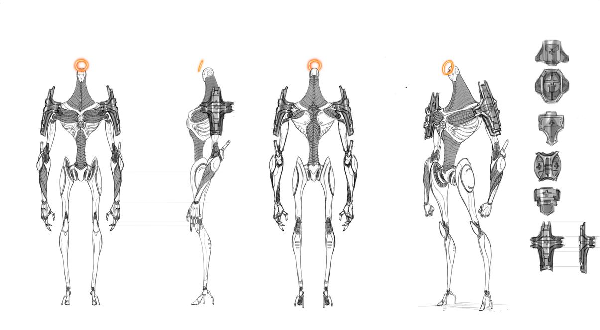 Gnomon Character Concept Design : Npc model sheet by david sladek on deviantart