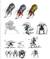 NPC character concepts by david-sladek