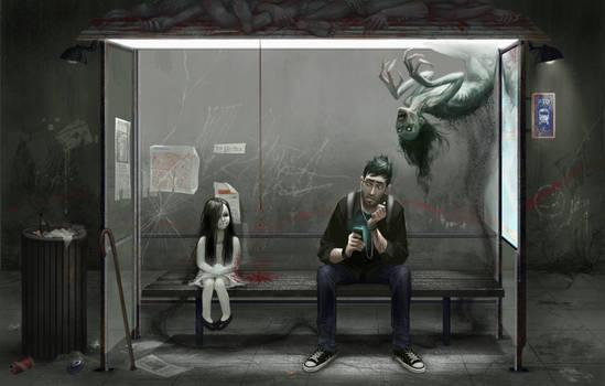 Waiting at the wrong bus stop