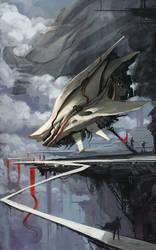 The landing by david-sladek