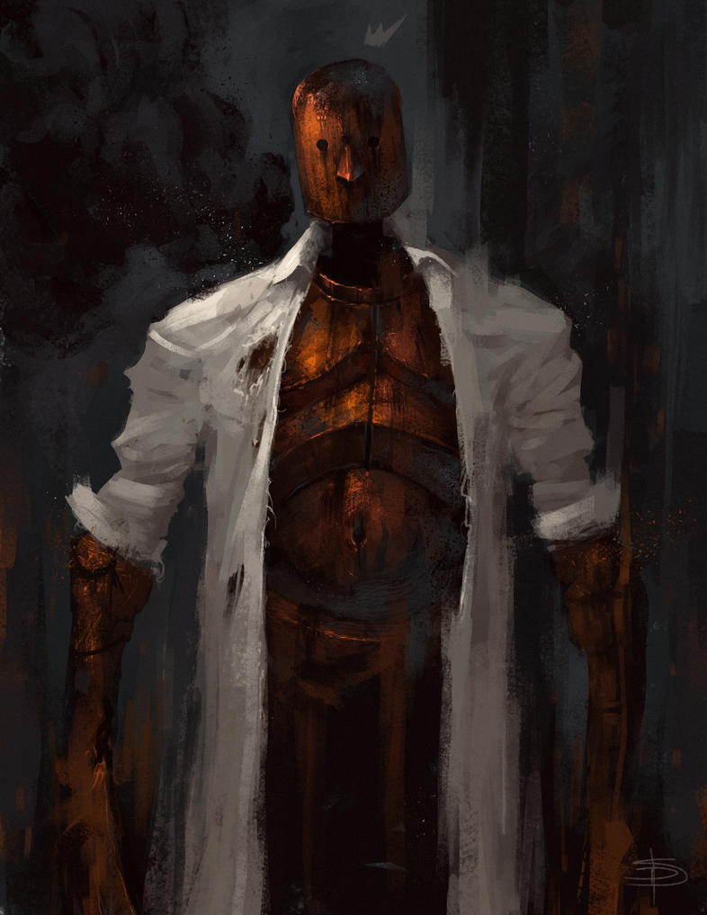 Sketch Session Day 5- mr. rust by david-sladek