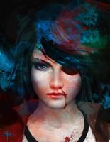 Zomb Girl returns! by david-sladek