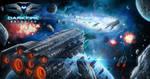 Darkfire Galaxies by david-sladek
