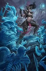 Diablo Wizard by david-sladek