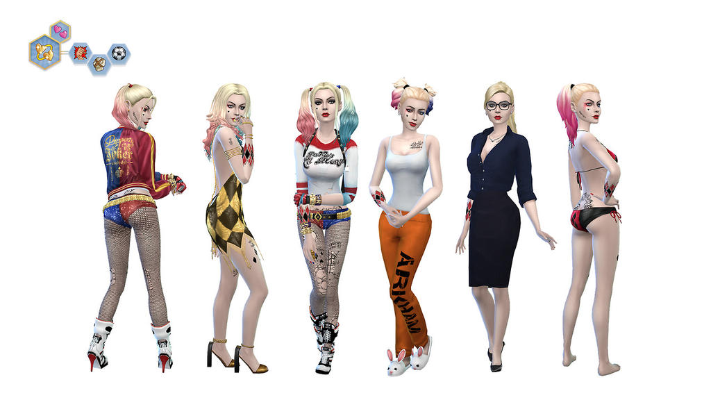 TS4 Harley Quinn Suicide Squad Sim by MissTex89