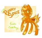 Punky Spice~ Halloween Pony Auction CLOSED