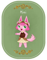 AC Badge- Mimi by Haventide