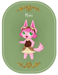 AC Badge- Mimi