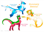 + Closed! Summer Sweets Keb Auction +