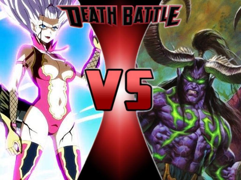 Death Battle Mirajane Vs Illidan By Blutaiger On Deviantart Mirajane strauss vs tier halibel (abandoned). death battle mirajane vs illidan by
