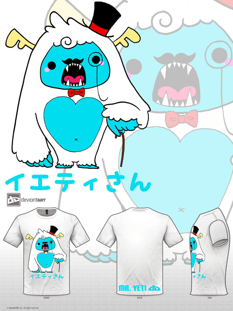 Mr. Yeti by XxH3LLOxKiMCHixX