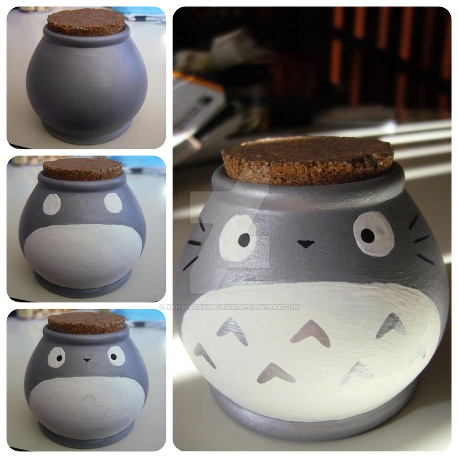 Totoro Pot by XxH3LLOxKiMCHixX
