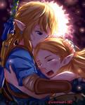 BOTW: Link and Zelda Hug
