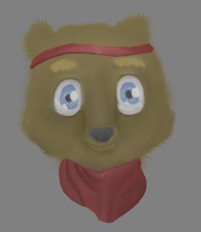 Outlaw Bear by moogletic