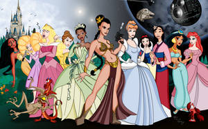 The New Disney Princess by Digital-Jedi