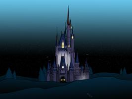 Dawn Cinderalla's Castle|Android Wallpaper by Digital-Jedi