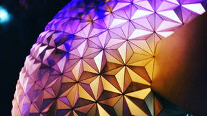 Epcot at Night :: Spaceship Earth