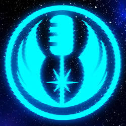 The Jedi HoloCast Logo