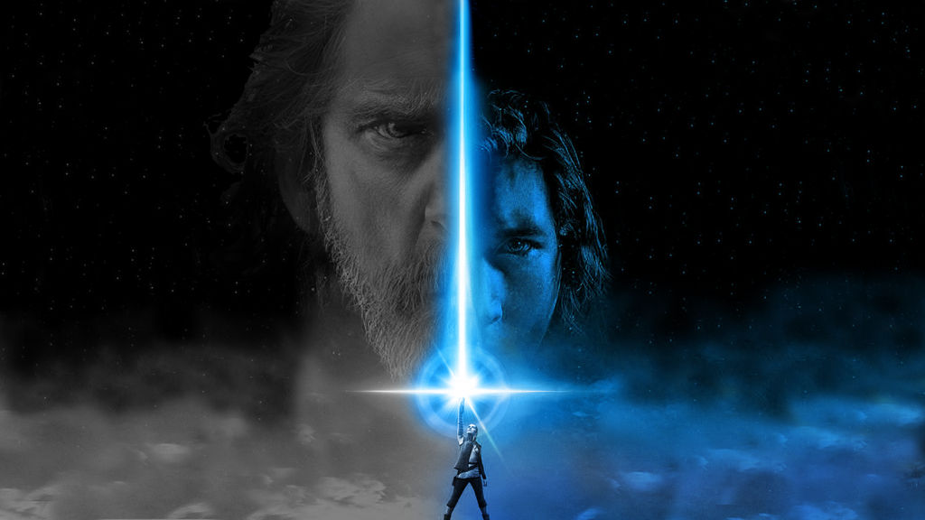 Star Wars The Last Jedi Wallpaper Grey And Blue By Redberry5291 On Deviantart