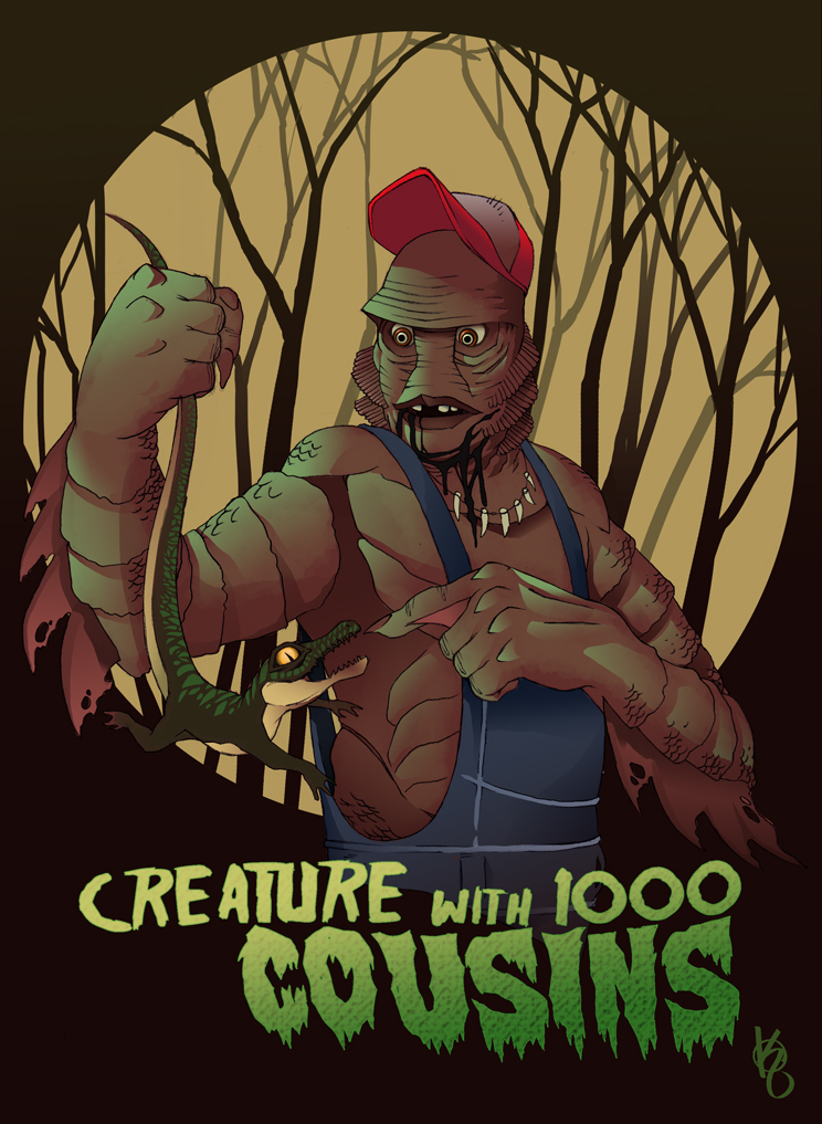 Creature with 1000 Cousins by KePafrenico